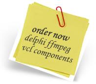 Order Delphi FFmpeg VCL Components